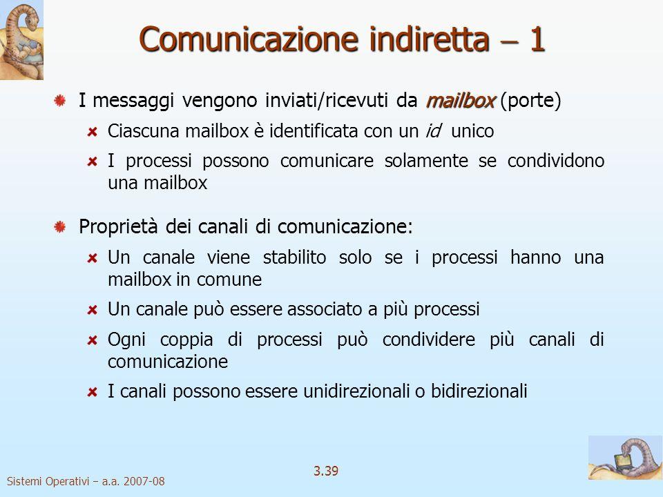 Comunicazione indiretta  1