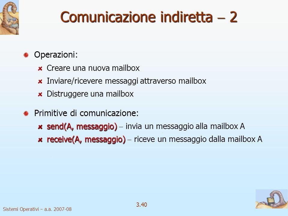 Comunicazione indiretta  2