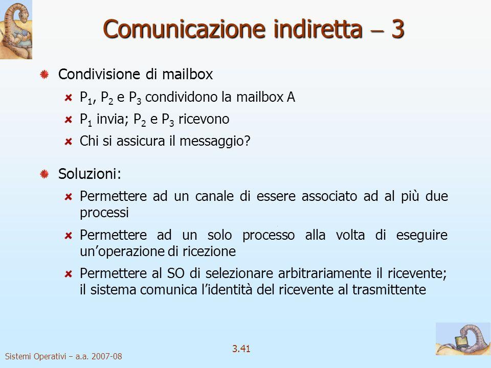 Comunicazione indiretta  3