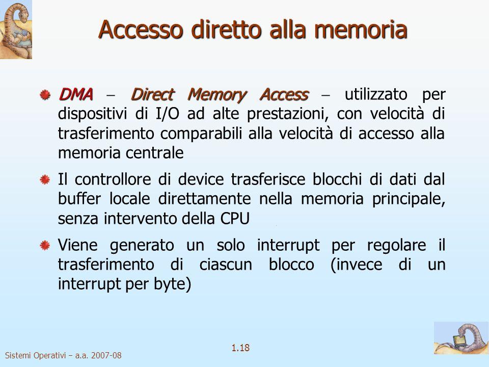 Accesso diretto alla memoria