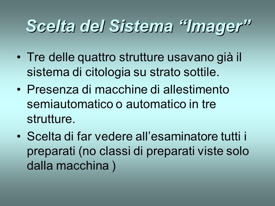 Scelta del Sistema Imager