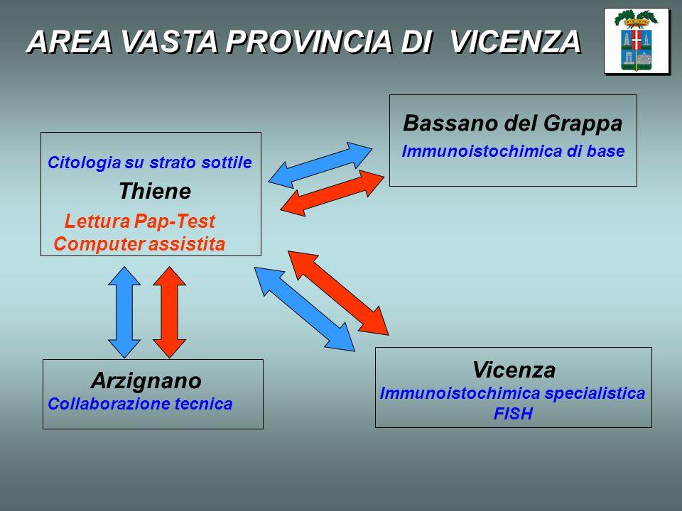 AREA VASTA PROVINCIA DI VICENZA
