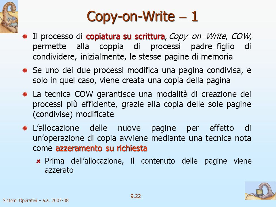 Copy-on-Write  1