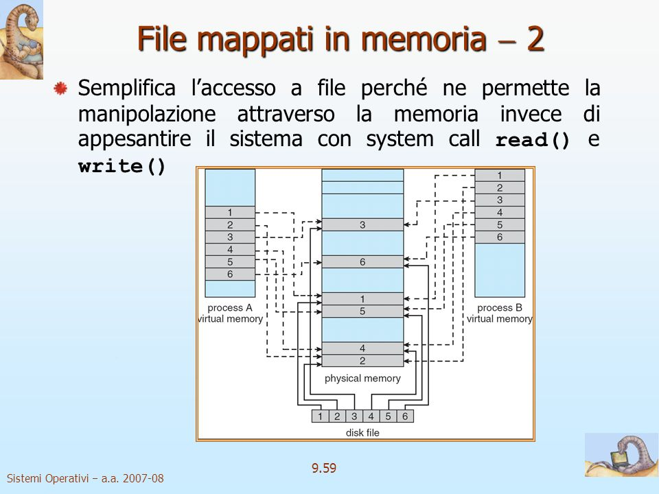 File mappati in memoria  2