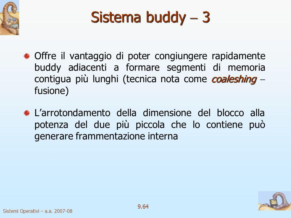 Sistema buddy  3