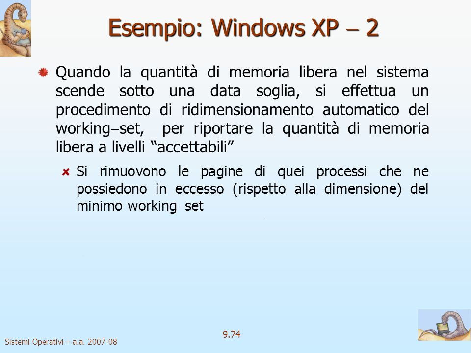 Esempio: Windows XP  2