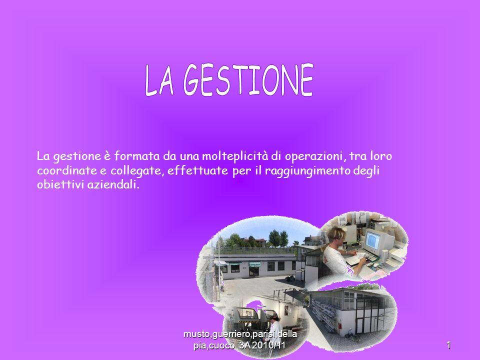 musto,guerriero,parisi,della pia,cuoco 3A 2010/11