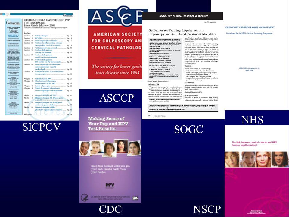 ASCCP NHS SICPCV SOGC CDC NSCP