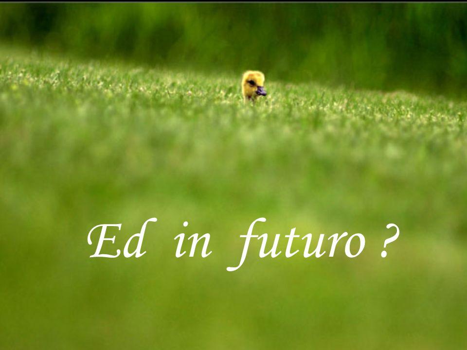 Ed in futuro