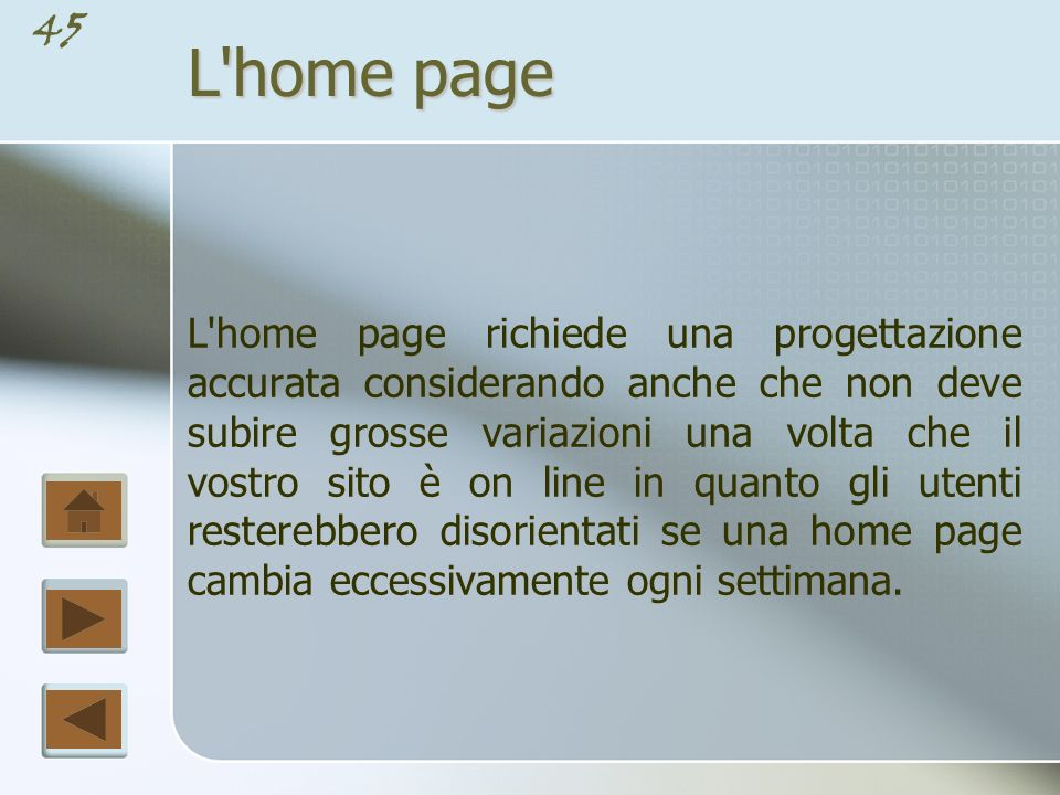 L home page