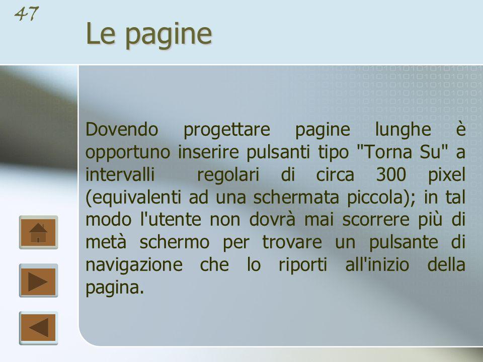 Le pagine