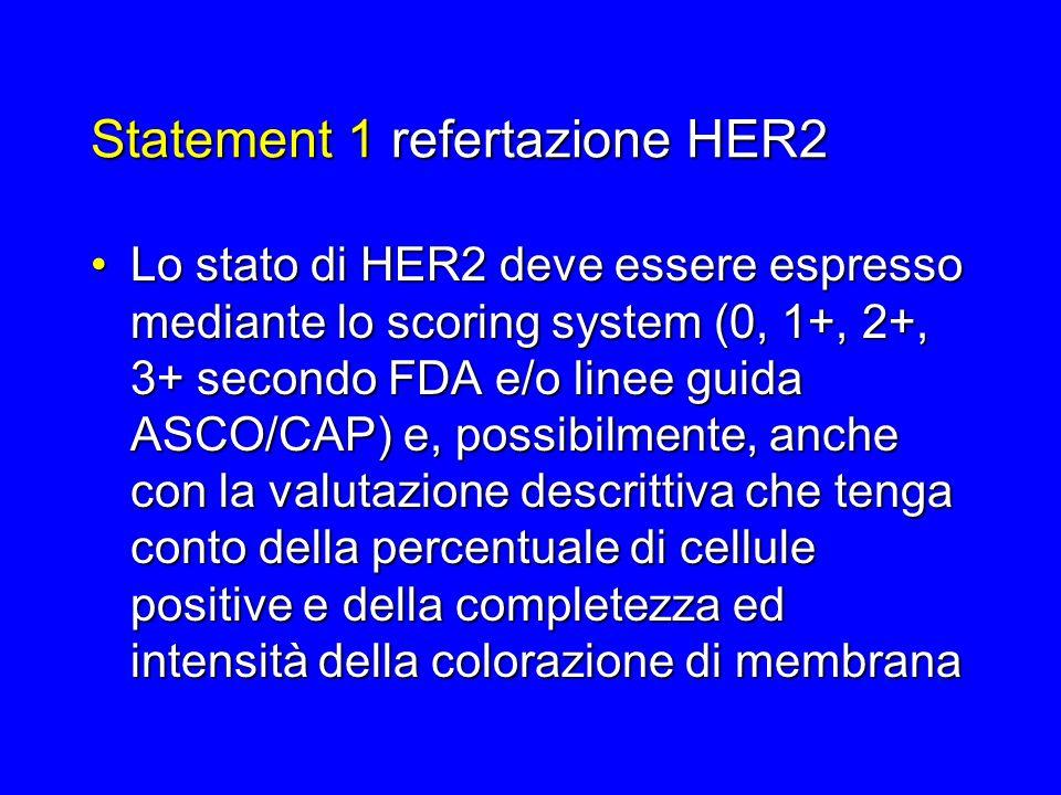Statement 1 refertazione HER2