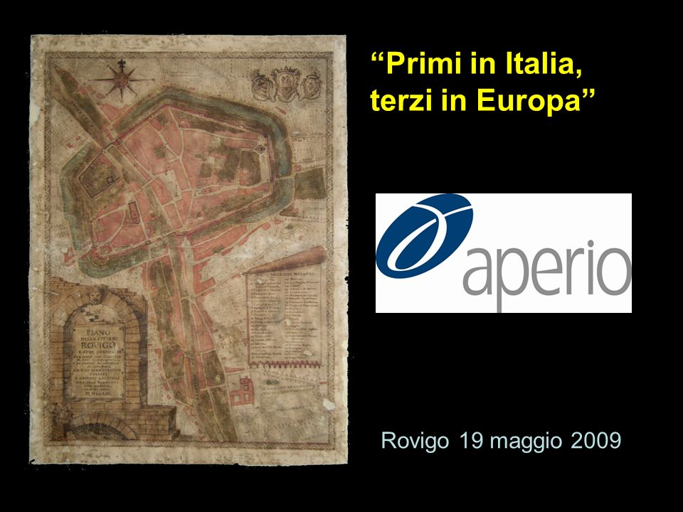 Primi in Italia, terzi in Europa
