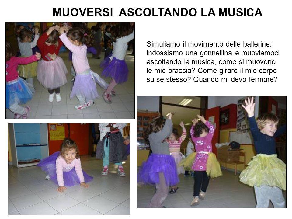 MUOVERSI ASCOLTANDO LA MUSICA