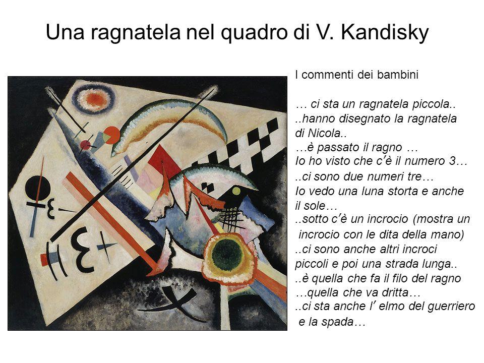Una ragnatela nel quadro di V. Kandisky