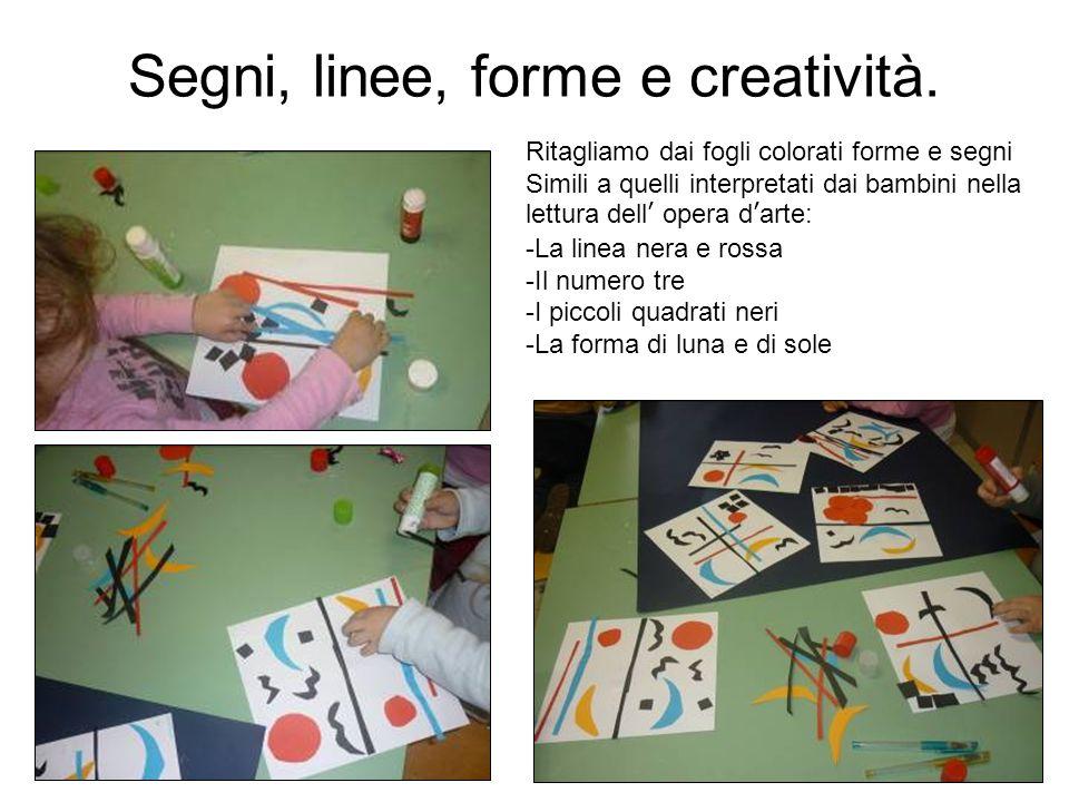 Segni, linee, forme e creatività.