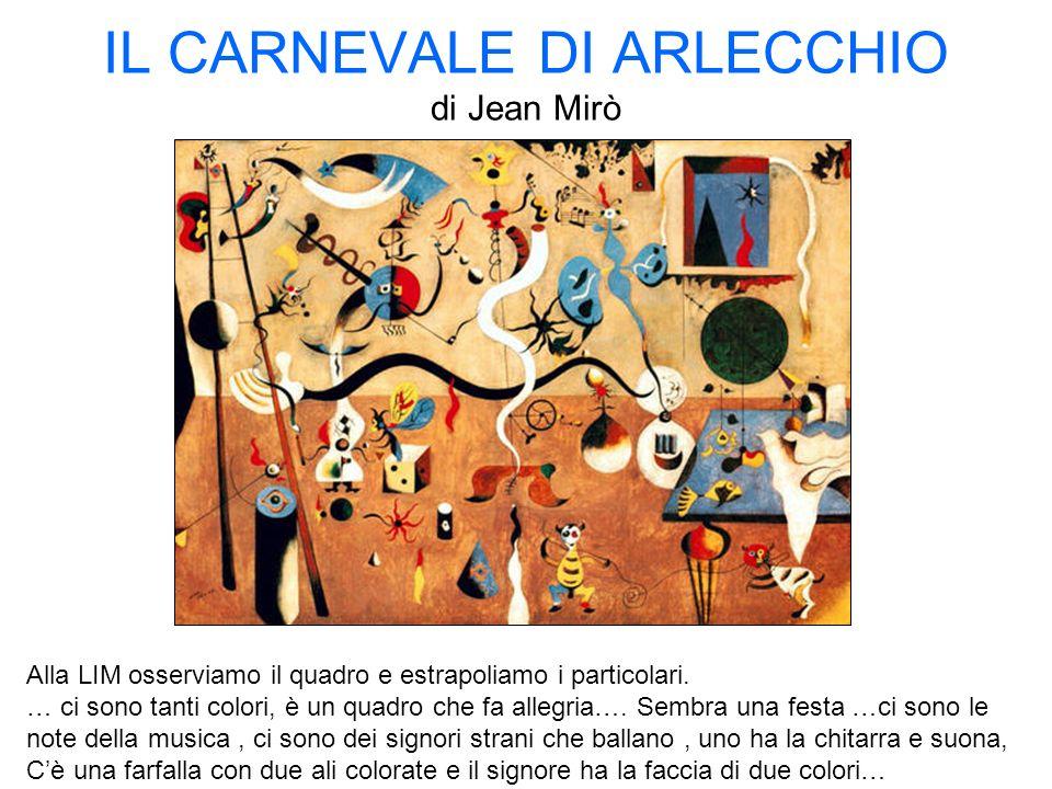 IL CARNEVALE DI ARLECCHIO di Jean Mirò