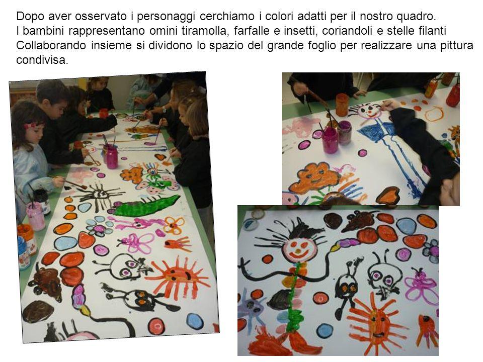 Dopo aver osservato i personaggi cerchiamo i colori adatti per il nostro quadro.
