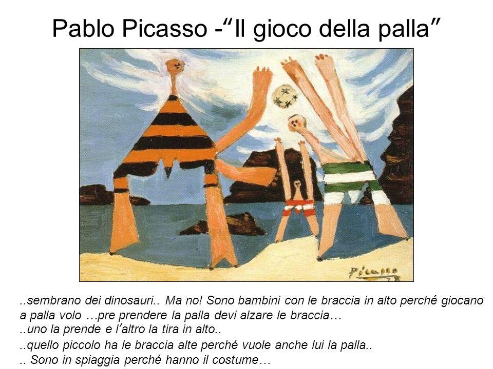 Pablo Picasso - Il gioco della palla