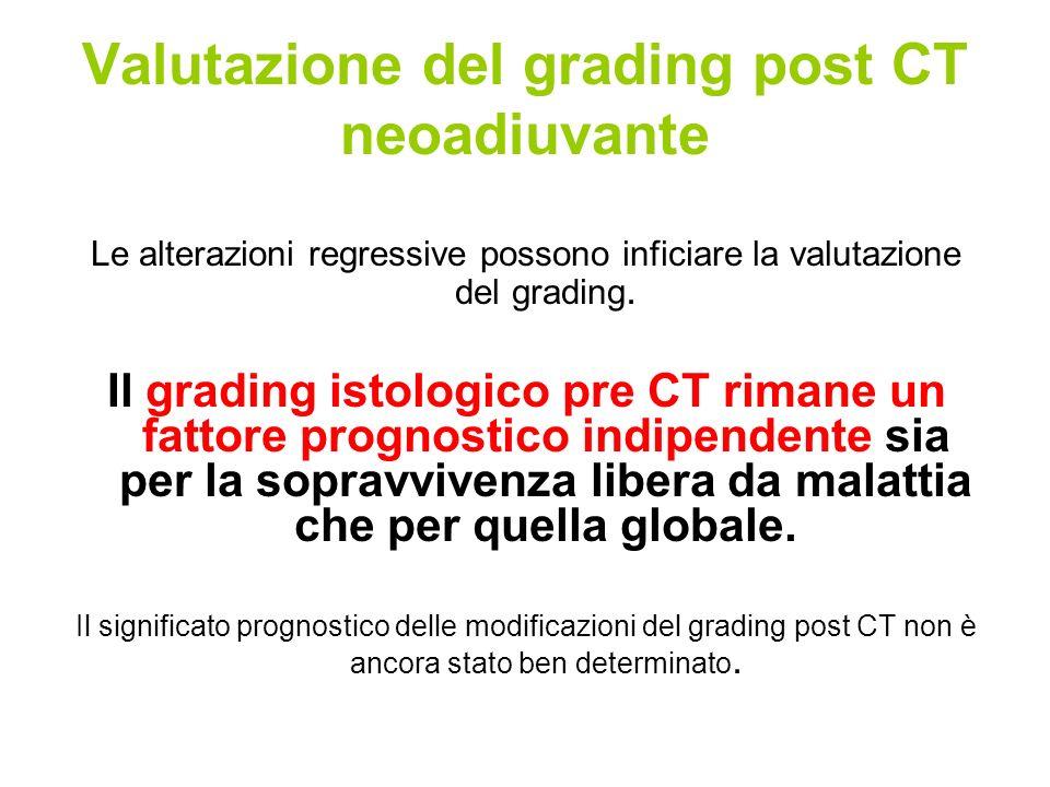 Valutazione del grading post CT neoadiuvante