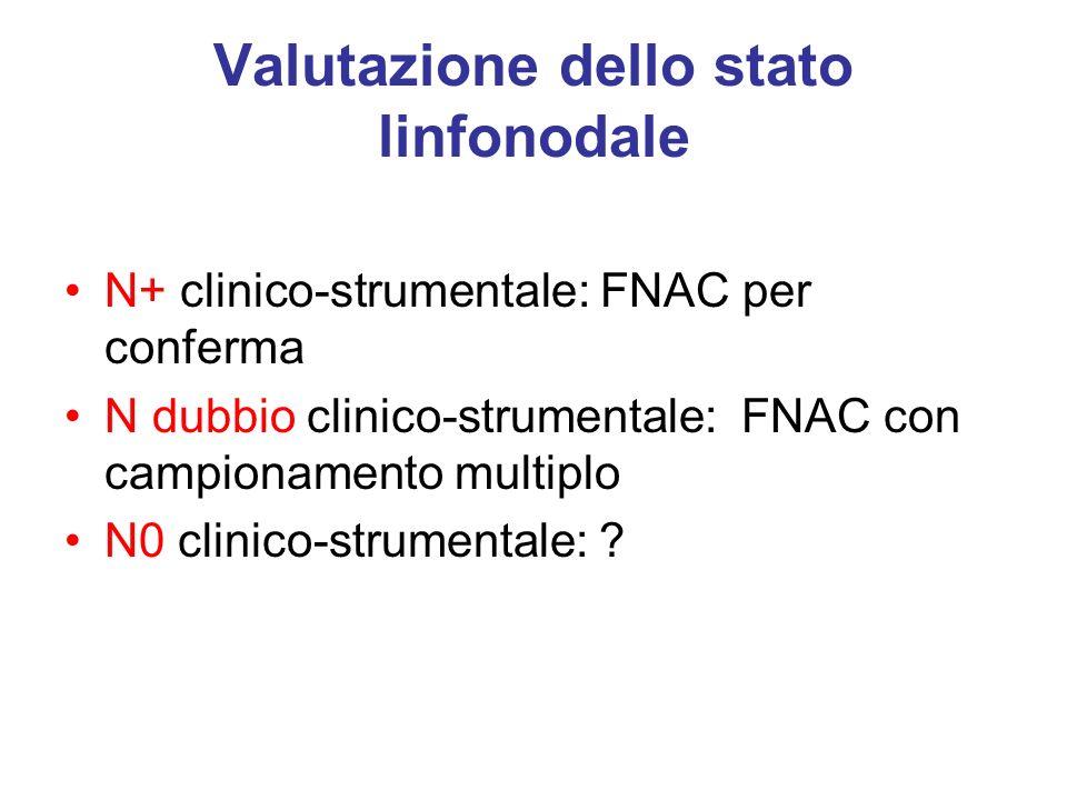 Valutazione dello stato linfonodale