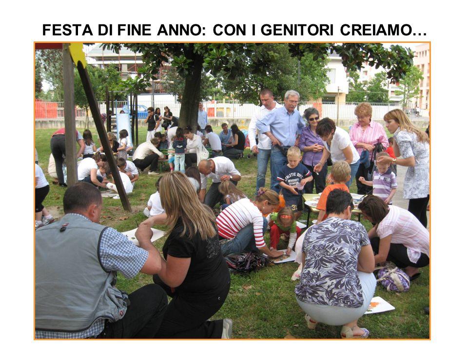 FESTA DI FINE ANNO: CON I GENITORI CREIAMO…