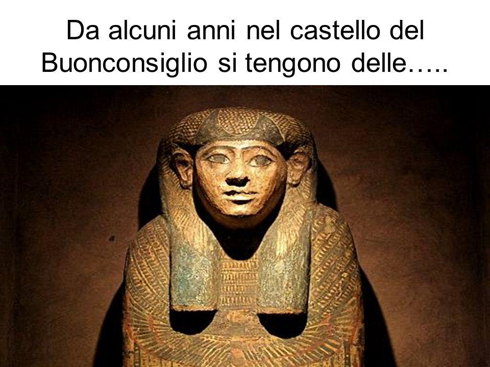 Da alcuni anni nel castello del Buonconsiglio si tengono delle…..