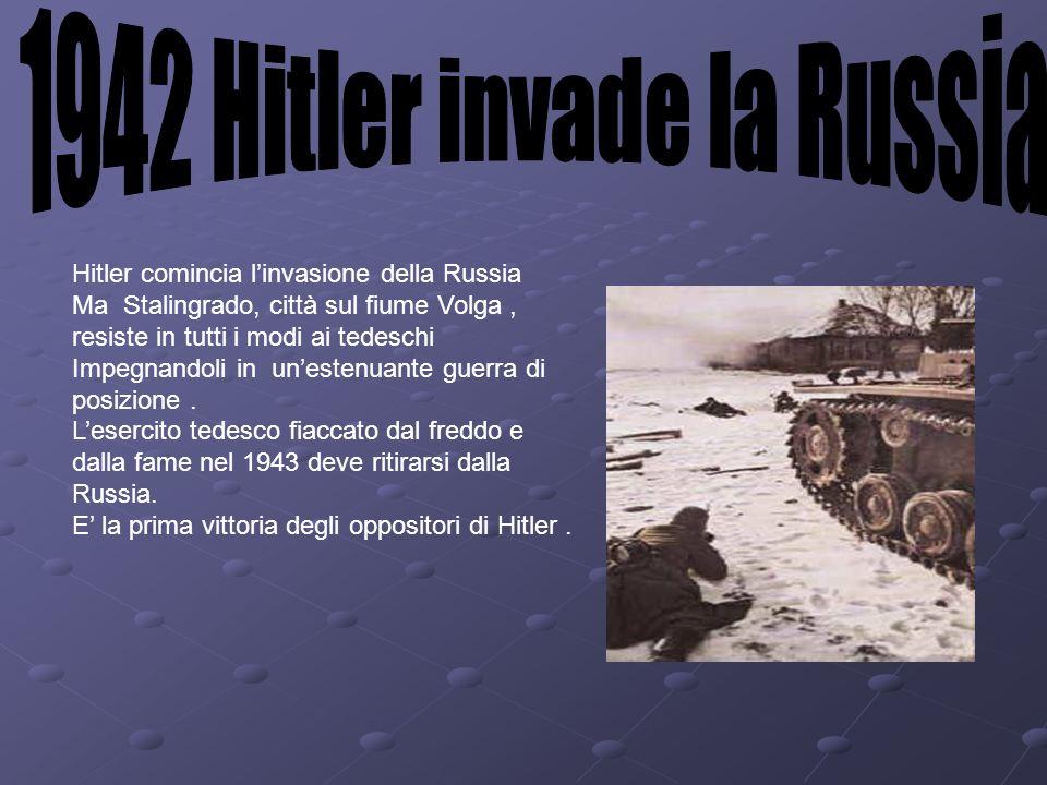 1942 Hitler invade la Russia