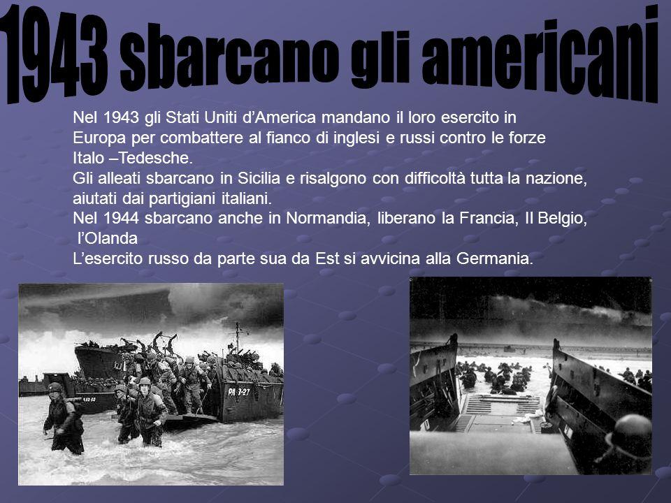 1943 sbarcano gli americani