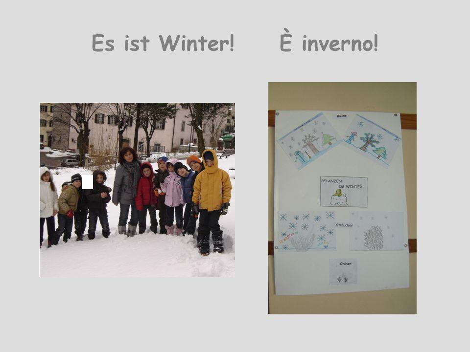 Es ist Winter! È inverno!