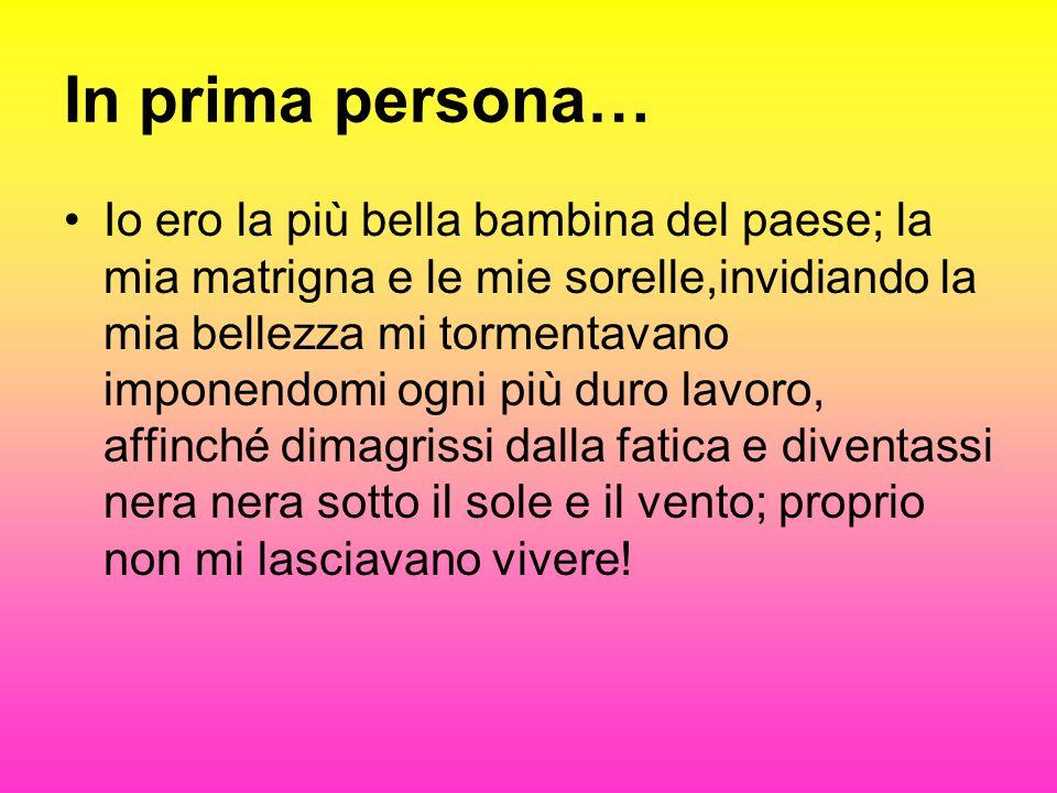 In prima persona…