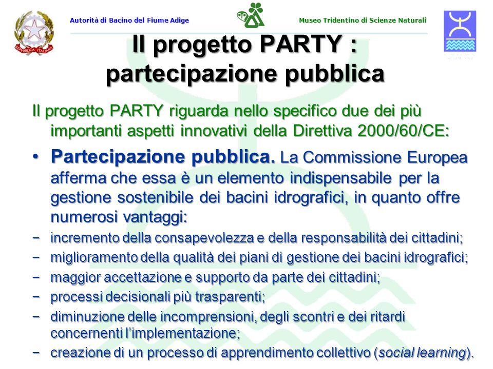 Il progetto PARTY : partecipazione pubblica