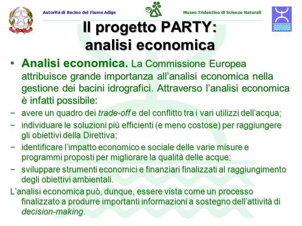 Il progetto PARTY: analisi economica