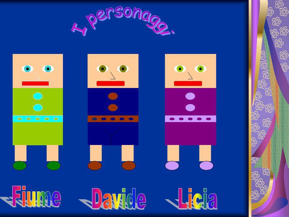 I personaggi Fiume Davide Licia