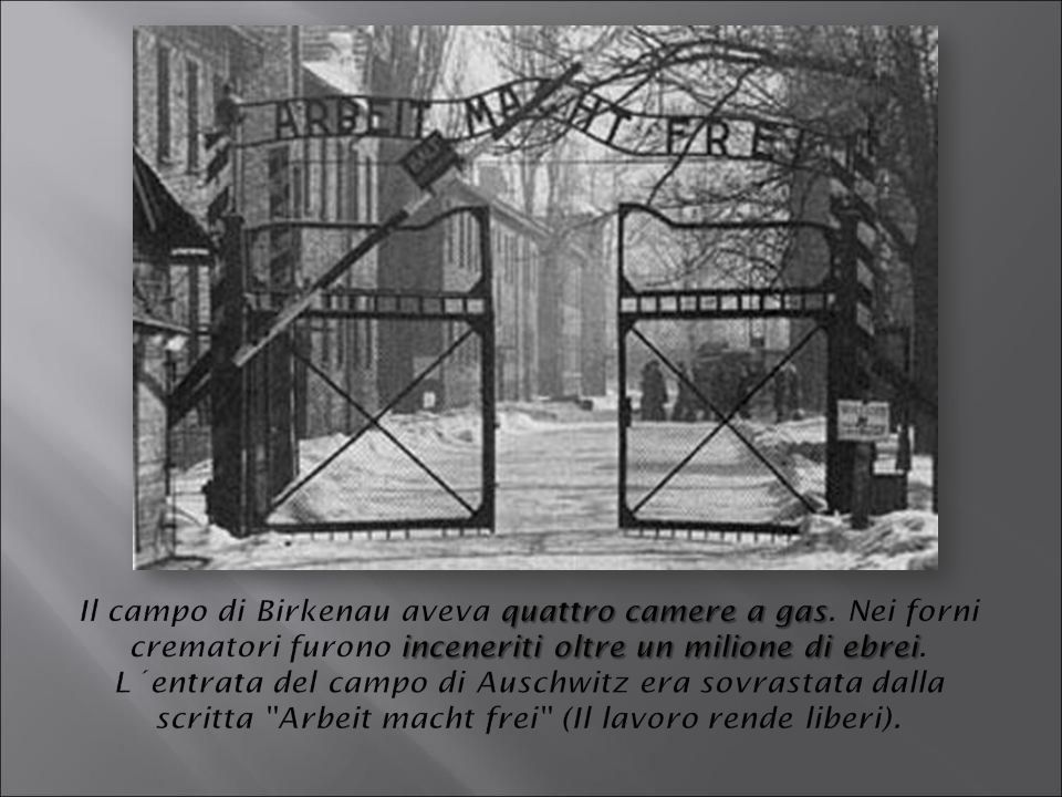 Il campo di Birkenau aveva quattro camere a gas