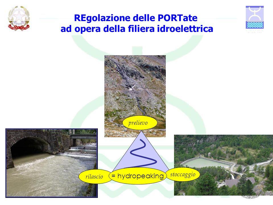 REgolazione delle PORTate ad opera della filiera idroelettrica
