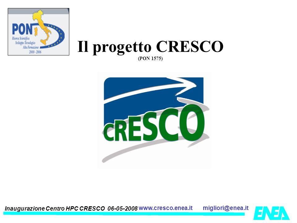 Il progetto CRESCO (PON 1575)