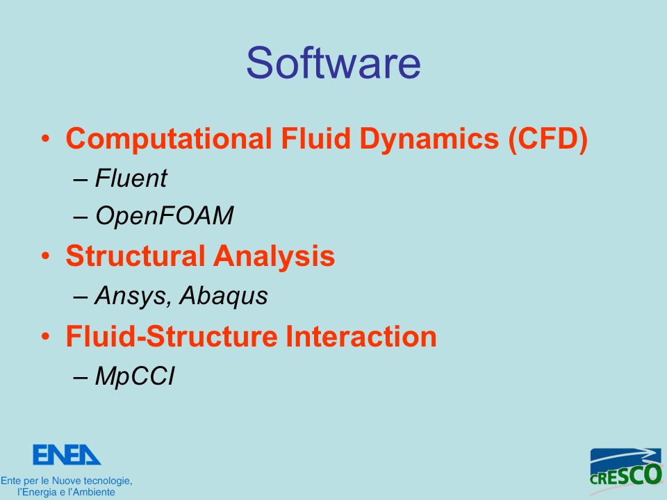 Software Computational Fluid Dynamics (CFD) Structural Analysis