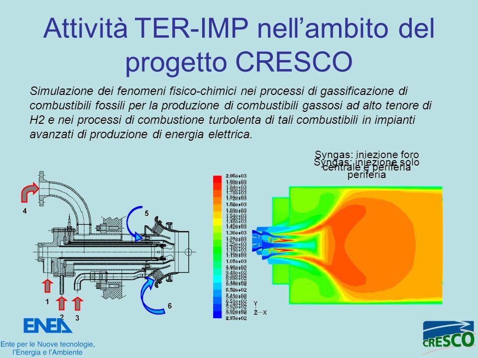 Attività TER-IMP nell'ambito del progetto CRESCO