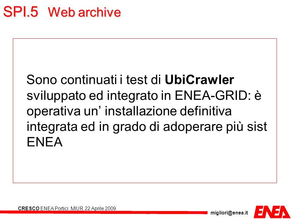 SPI.5 Web archive