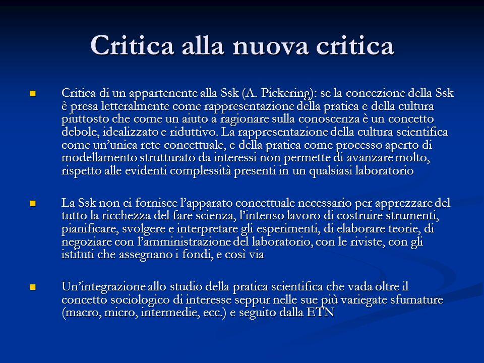 Critica alla nuova critica