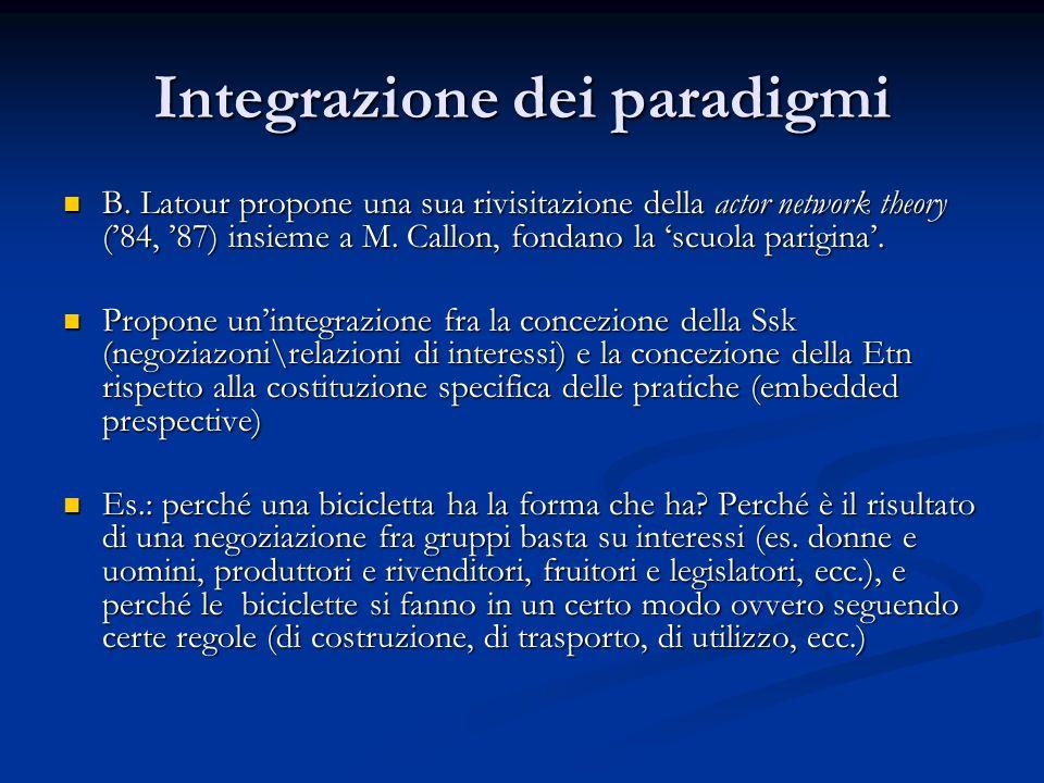 Integrazione dei paradigmi