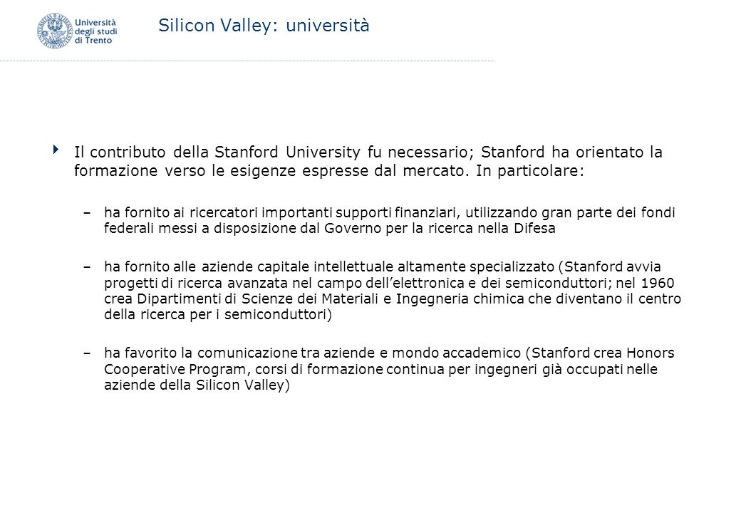 Silicon Valley: università