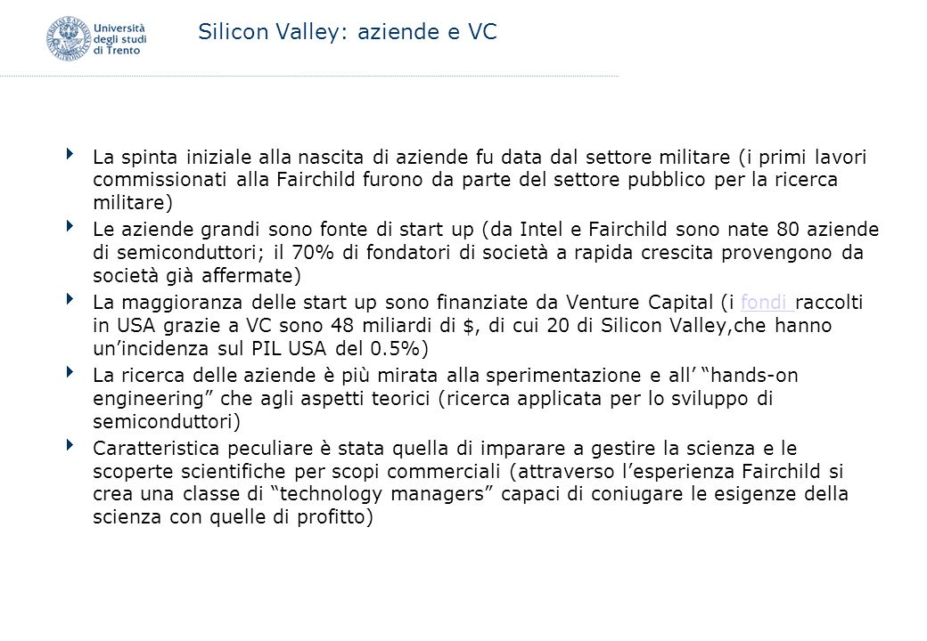 Silicon Valley: aziende e VC