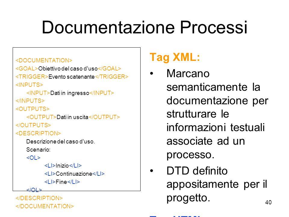 Documentazione Processi