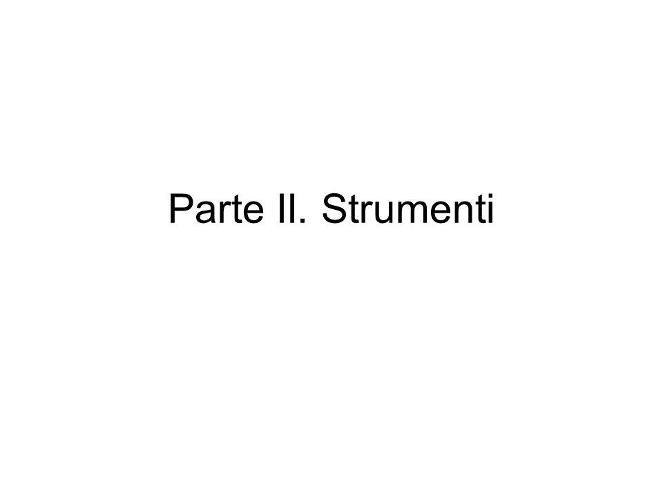 Parte II. Strumenti