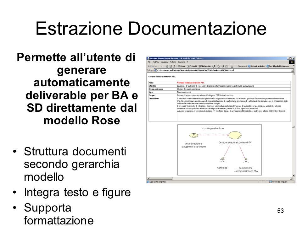 Estrazione Documentazione