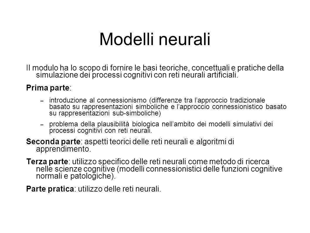 Modelli neurali