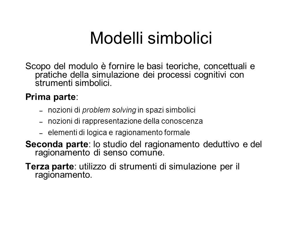 Modelli simbolici