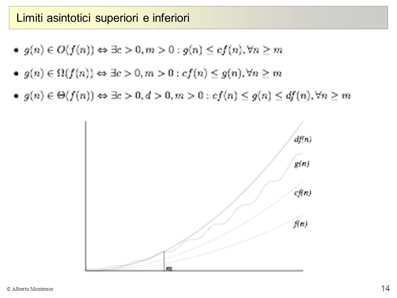 Limiti asintotici superiori e inferiori